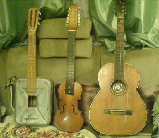 старые гитары