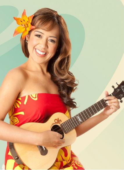 girl ukulele