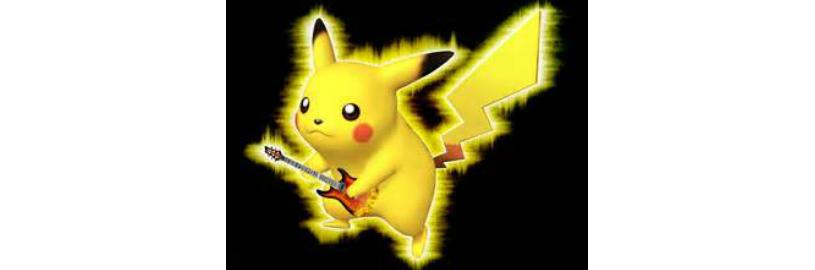 Покемон с гитарой